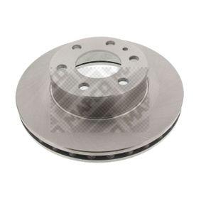 Bremsscheibe Bremsscheibendicke: 28mm, Lochanzahl: 6, Ø: 300mm mit OEM-Nummer 2996131