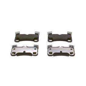 Bremsbelagsatz, Scheibenbremse Breite: 132,4mm, Höhe: 77,3mm, Dicke/Stärke: 15,3mm mit OEM-Nummer 95535293961