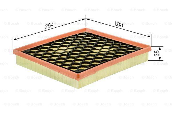 Air Filter BOSCH 1 457 433 338 expert knowledge