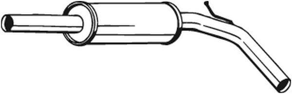 VEGAZ  VS-244AT Mittelschalldämpfer