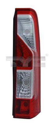 hátsólámpa TYC 11-11700-01-2 vesz