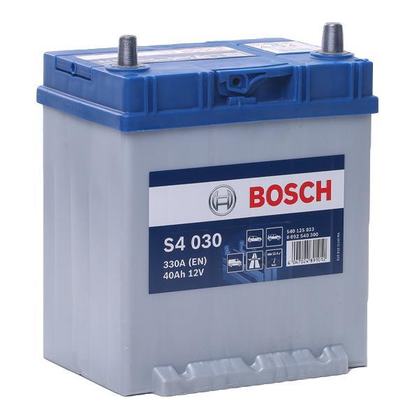 Autobatterie 0 092 S40 300 BOSCH S4030 in Original Qualität
