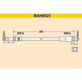 Bremsschlauch BAH0025 5 Touring (E39) 523i 2.5 Bj 1998