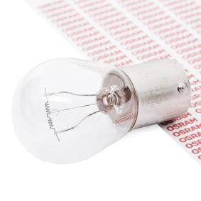 Bulb, indicator P21W, BA15s, 24V, 21W 7511TSP MERCEDES-BENZ T2, VARIO