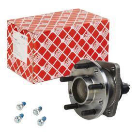 Wheel Bearing Kit Ø: 136,0mm, Inner Diameter: 31,0mm with OEM Number 4 858 822
