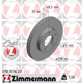 Brake Disc Article № 370.3076.20 £ 140,00