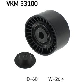 Umlenkrolle Keilrippenriemen Ø: 60mm mit OEM-Nummer 16 114 229 80