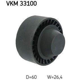 SKF  VKM 33100 Umlenkrolle Keilrippenriemen Ø: 60mm