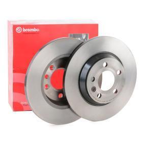 Bremsscheibe Bremsscheibendicke: 13,5mm, Lochanzahl: 5, Ø: 294mm mit OEM-Nummer 7D0615601A