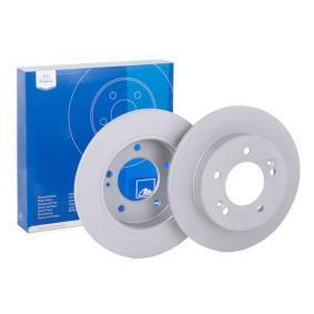 Bremsscheibe Bremsscheibendicke: 10,0mm, Lochanzahl: 5, Ø: 258,0mm mit OEM-Nummer 58411 1P300