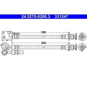 fékcső 200mm 24.5270-0200.3