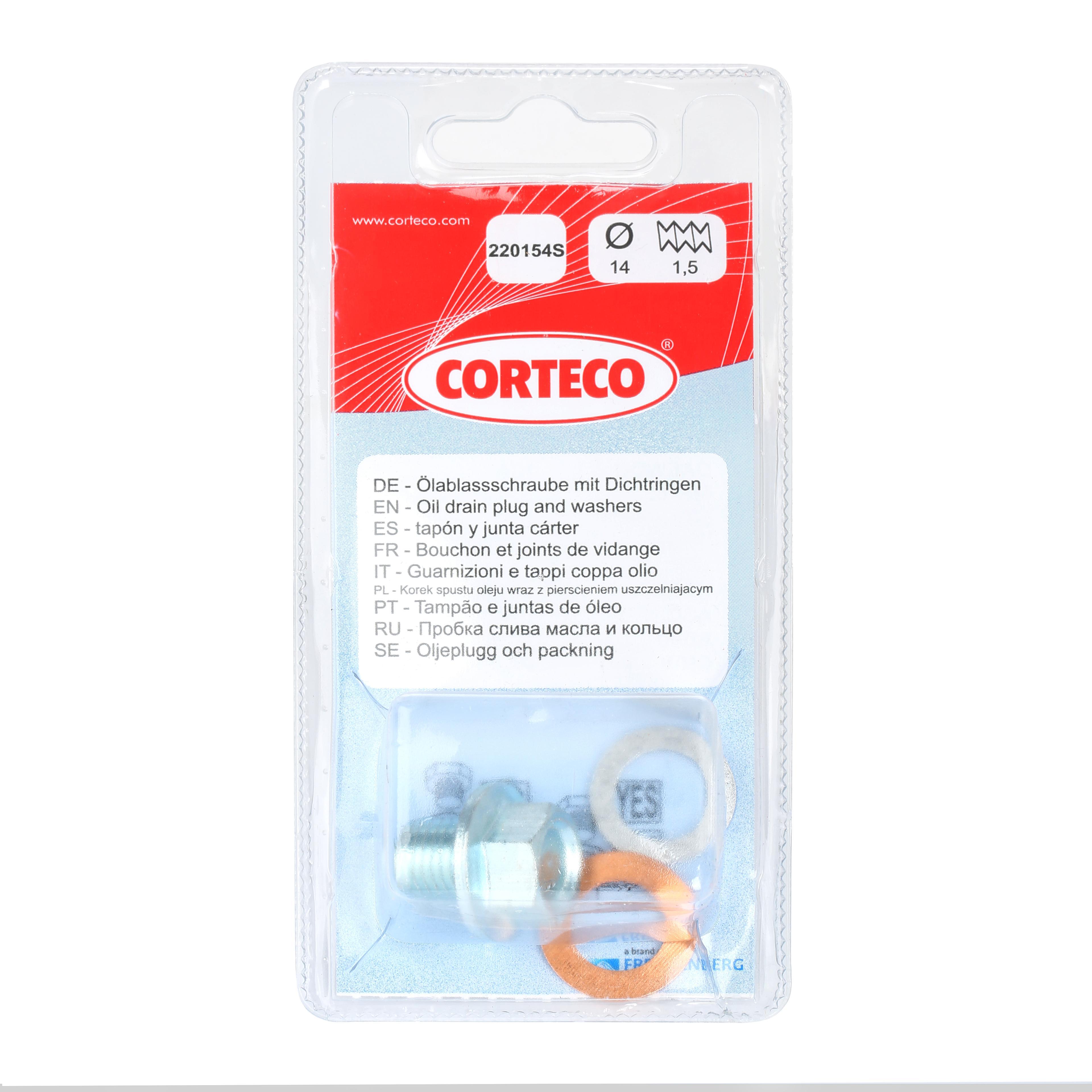 Tappo Coppa Olio 220154S CORTECO 84920154 di qualità originale