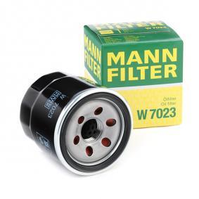 MANN-FILTER W7023 expert knowledge