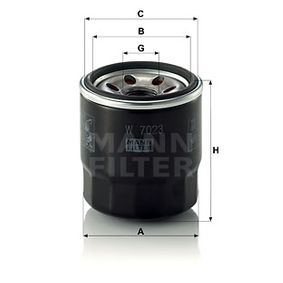 Article № W 7023 MANN-FILTER prices