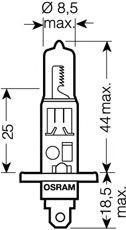 Glühlampe, Fernscheinwerfer OSRAM 64150SV2-02B Bewertung