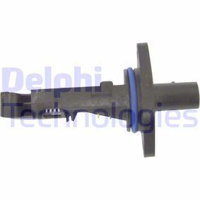 DELPHI Luftmassenmesser AF10083-12B1 für AUDI A4 (8D2, B5) 1.9 TDI ab Baujahr 03.2000, 116 PS