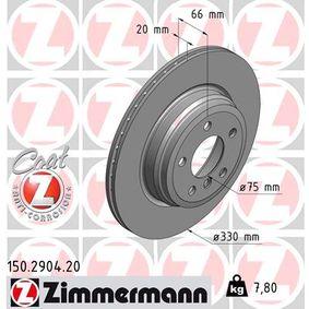 BMW F31 320d Kurbelgehäuseentlüftung ZIMMERMANN COAT Z 150.2904.20 (320d 2.0 Diesel 2019 B47 D20 A)
