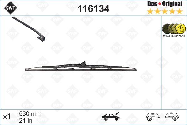 Scheibenwischer 116134 SWF 116134 in Original Qualität