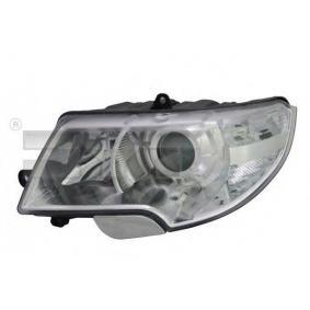 Hauptscheinwerfer für Fahrzeuge mit Leuchtweiteregelung (elektrisch), für Rechtsverkehr mit OEM-Nummer 3T1941017C