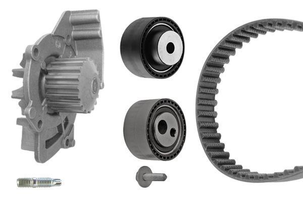 BOSCH  1 987 946 410 Water pump and timing belt kit Length: 1362mm, Width: 24,4mm