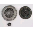 VALEO Clutch Kit with clutch plate, with releaser, with clutch pressure plate