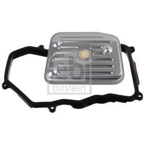 FEBI BILSTEIN Hydraulikfiltersatz, Automatikgetriebe 33945 für AUDI A6 (4B2, C5) 2.4 ab Baujahr 07.1998, 136 PS