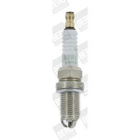 Spark Plug Electrode Gap: 0,8mm with OEM Number 96 307 729
