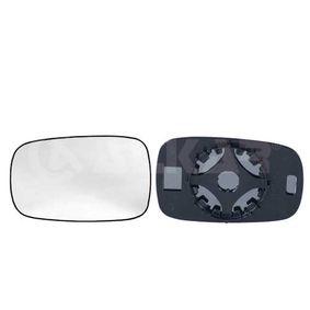 Renault Clio 3 1.5dCi (BR1C, CR1C) Außenspiegelglas ALKAR 6451228 (1.5 dCi Diesel 2008 K9K 772)