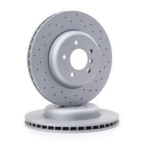ZIMMERMANN SPORT COAT Z 150.3483.52 Bremsscheibe Ø: 348mm