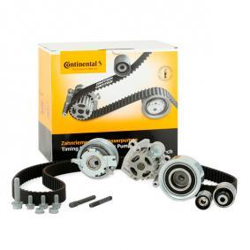 Water pump and timing belt kit Width: 25mm with OEM Number CT1139 CONTITECH