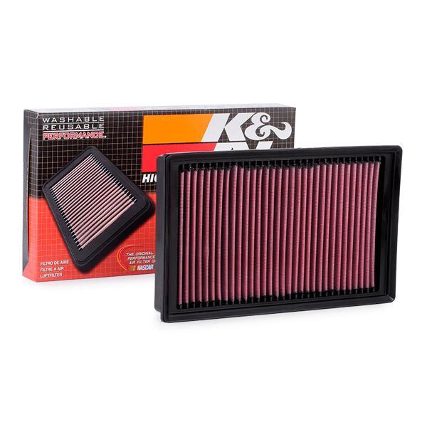 Luchtfilter K&N Filters 33-3005 expert kennis