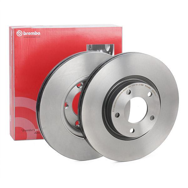 Disc Brakes BREMBO 09.9468.21 expert knowledge