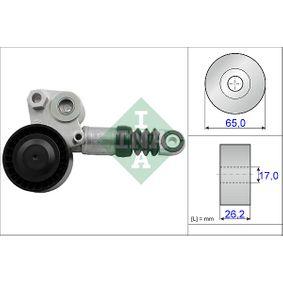 Spannarm, Keilrippenriemen Breite: 26,20mm, Ø: 65,00mm mit OEM-Nummer 31316674