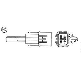 Lambdasonde mit OEM-Nummer MN137944
