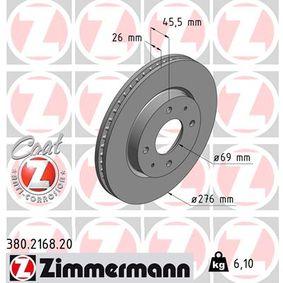 Bremsscheibe Art. Nr. 380.2168.20 120,00€