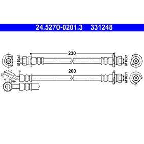 fékcső 200mm 24.5270-0201.3