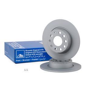 Unterdrucksteuerventil für VW TOURAN (1T1, 1T2) 1.9 TDI 105 PS ab Baujahr 08.2003 ATE Bremsscheibe (24.0110-0356.1) für