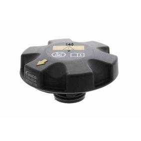 Sealing Cap, coolant tank Original VAICO Quality with OEM Number 17 11 7 521 071