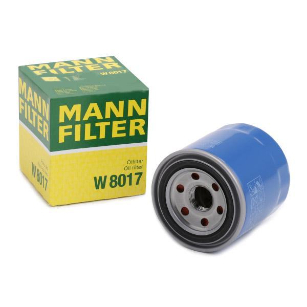 Ölfilter MANN-FILTER W8017 Erfahrung