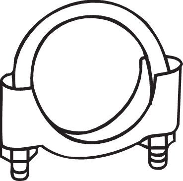 Klämma, avgassystem BOSAL 250-254 rating