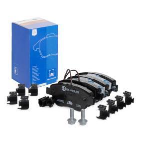 Bremsbelagsatz, Scheibenbremse Breite: 122,8mm, Höhe: 53,3mm, Dicke/Stärke: 18,0mm mit OEM-Nummer 7 177 009 8