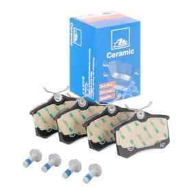 Bremsbelagsatz, Scheibenbremse Breite: 87,6mm, Höhe: 52,9mm, Dicke/Stärke: 16,4mm mit OEM-Nummer 8671 016 188