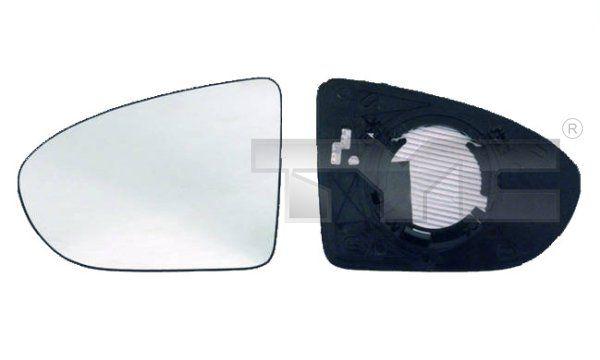Spiegelglas, Außenspiegel TYC 324-0030-1 8717475076752