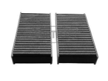CORTECO  80004360 Filter, Innenraumluft Länge: 165mm, Breite: 88mm, Höhe: 30mm