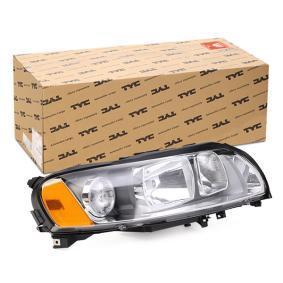 Hauptscheinwerfer für Fahrzeuge mit Leuchtweiteregelung (elektrisch), für Rechtsverkehr mit OEM-Nummer 30698836