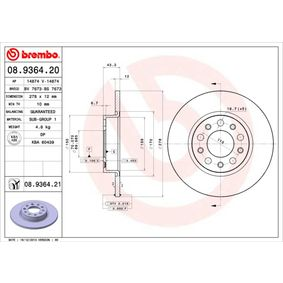 Article № 08.9364.21 BREMBO prices