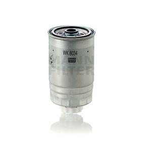 Kraftstofffilter Höhe: 150mm mit OEM-Nummer 52126 244AB