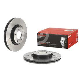 Brake Disc Brake Disc Thickness: 25mm, Num. of holes: 5, Ø: 300mm with OEM Number C26Y-33-25XD