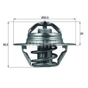 BEHR THERMOT-TRONIK  TX 88 88D Thermostat, coolant