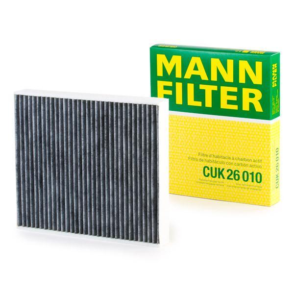Pollen Filter CUK 26 010 MANN-FILTER CUK 26 010 original quality